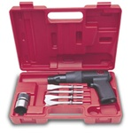 Chicago Pneumatic 7110K Heavy-Duty Air Hammer Kit with Four Chisels