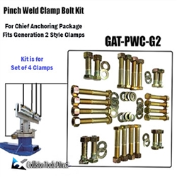 Chief Pinch Weld Clamp Bolt Kit -Generation 2
