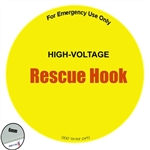 Insulated Rescue Hook Sign - 18""