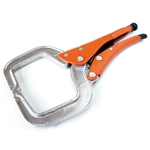 "Grip-On GR14412 12"" C-Clamp Locking Pliers with Aluminum Jaws -Aluminum collision tools"