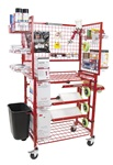 Innovative I-MCWM Paint Prep Cart with Masker