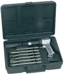 Ingersoll Rand 121-K6 Air Hammer with 6 Chisels