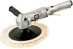 "Ingersoll Rand 314A Heavy-Duty Air Angle Polisher/Buffer - 7"" Pad"