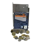 JE Adams 8120-2 Coin Acceptor - Ginsan - Multitron