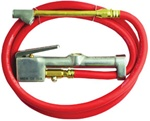Milton 501 Inflator Gauge with Dual-Head Chuck and Hose