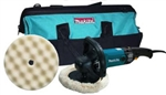 "Makita 9237CX2 7"" Variable Speed Electronic Polisher Kit"