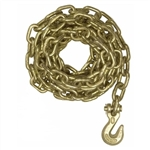 "Mo-Clamp 6004 3/8"" X 4' Chain with Grab Hook"