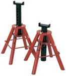 Norco 81210I Pair 10ton Capacity Jack Stands - Pin Type (High) Imported