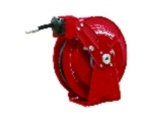 Reelcraft DP7450 Ohp 1/4 X 50', 5000 PSI, Grease Hose Reel with Hose