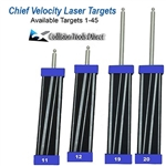 Laser Target Complete Set #1-#45  Compare to Chief Velocity  Targets
