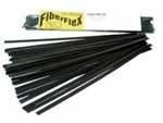 Urethane Supply R10-04-03-BK 5003R10 Fiberflex Round Rod, 30'