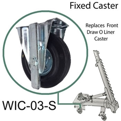 Wicke Fixed Wheel Caster 03 - Car O Liner 30952  D16-16 Fixed Wheel