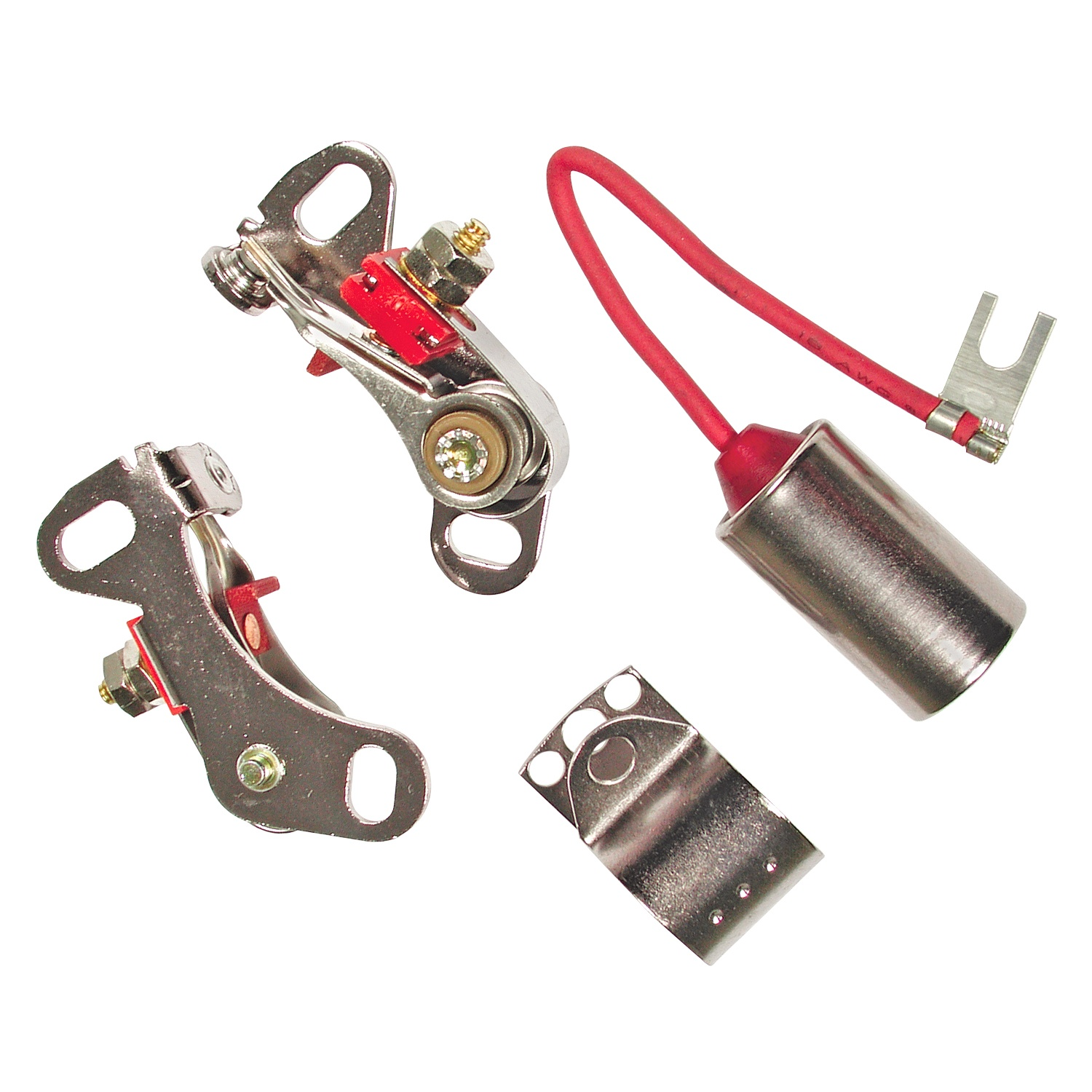 Accel 8328 Ignition Breaker Points Condensers At Atkhp Com