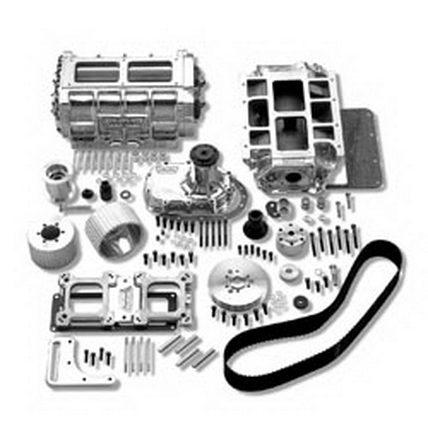 Weiand 671 Street Supercharger Kit Superchargers