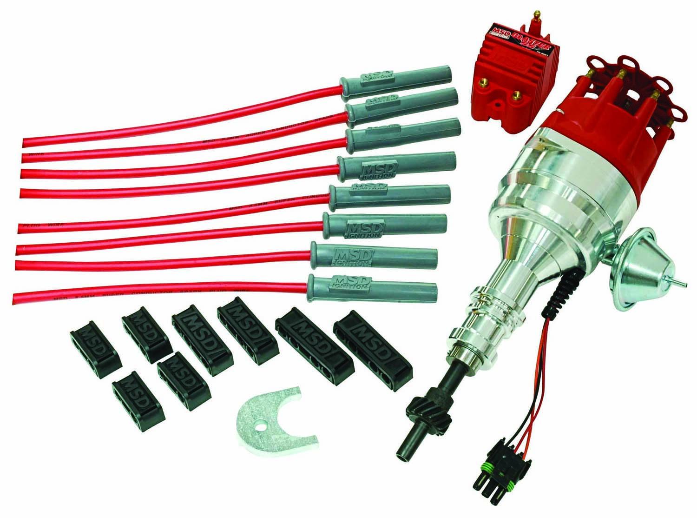 460 Ford Engine Distributor Wiring Diagram Schematics 1988 F450 Gas Enginewiring Diagrampump Relayterminals Msd 84745 Ignition Kits At Atkhp Com Basic