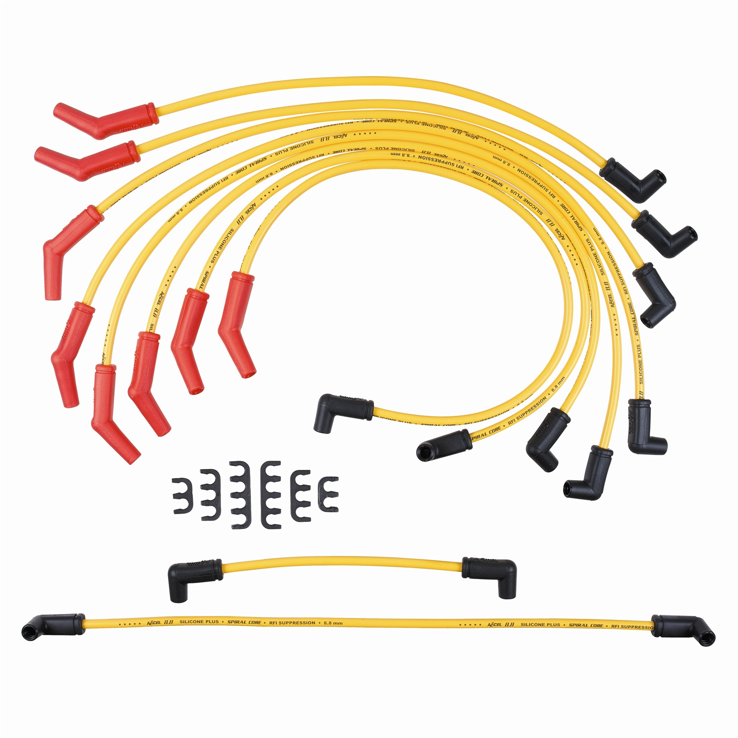 Accel 8854 Custom Fit 8.8mm Spark Plug Wire Sets at ATKHP.com