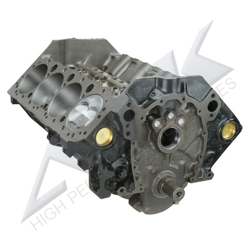 ATK SP35 Chevy 383CI Stroker Short Block -16cc Dish Pistons 4 Bolt Main 1pc  Seal