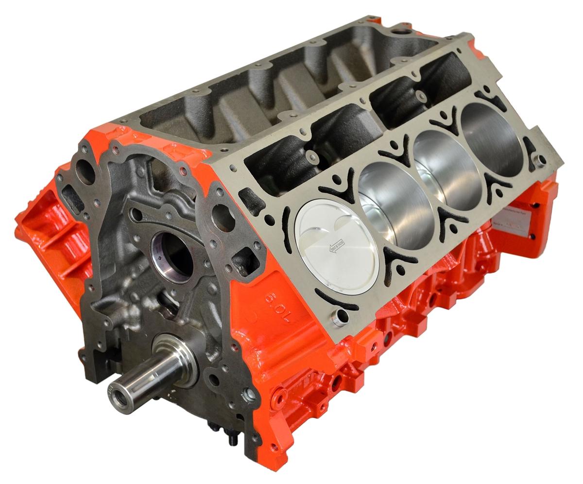 ATK SP80 LM7 383CI Short Block -3cc Flat Top Pistons 24 Tooth