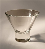 Glass Candle Cup for Danish Iron