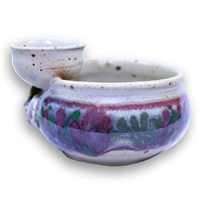 Chip Bowl w/ Flower Frog - Small