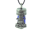Pewter Lighthouse Essential Oil Aromatherapy Keepsake Bottle(jpew6036)
