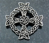Pewter Celtic Cross Pin/Pendant(JPEW6082)