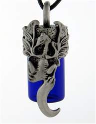 Pewter Dragon Essential Oil Aromatherapy Keepsake Bottle(pew14)