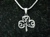 """The Journey""  Shamrock/Triskel  Necklace(S102WC"