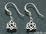 Sister Knot Trinity dangle Earrings( S117)