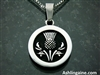Handsome Scottish Thistle Pendant