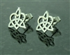 Celtic Sister's knot/Family knot POST earrings(S203)
