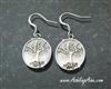 Family Tree Earrings in 316 L Stainless Steel (S206)