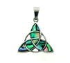 316 L Stainless Steel Trinity Abalone Pendant(S230)