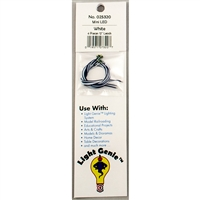 "025320 LIGHT GENIE LED MINI WHITE WITH 12"" LEADS (4 pack)"