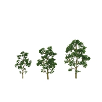 "0592055 PREMIUM TREES: MAPLE 1"" to 2"" PREMIUM Z-scale, 6/pk"