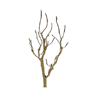"0594120 PROFESSIONAL TREES: MOUNTAIN GUM 4"" PRO ARMATURE, 3/pk"