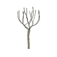 "0594121 PROFESSIONAL TREES: ROUND HEAD 4"" PRO ARMATURE, 3/pk"