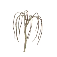 "0594123 PROFESSIONAL TREES: WEEPING WILLOW 4"" PRO ARMATURE, 3/pk"