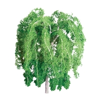 0594397 PROFESSIONAL TREES: WEEPING WILLOW 1/2'' PRO, 6/pk