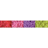 0595146 TURF, Red, Pink, Purple, Yellow - Med. Bags 10 Cu In