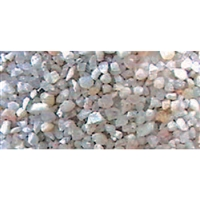 0595231 GRAVEL, White Mix - Fine, Bag 200g