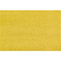 "0595417 GRASS MAT, Z-scale - 19"" x 25"" Yellow Straw"