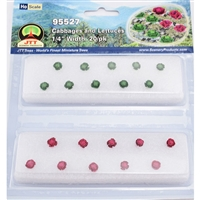 "0595527 CABBAGES & LETTUCES 1/4"" tall HO-scale, 20/pk"