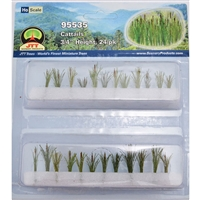 "0595535 CATTAILS 3/4"" tall HO-scale, 24/pk"