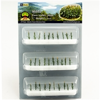 "0595552 CORN STALKS 1"" tall HO-scale, 30/pk"