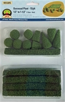 0595585 BOXWOOD PLANTS, O-scale, 15/pk