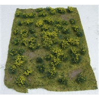 "0595605 FLOWERING MEADOW Yellow, 5"" x 7"" sheet."