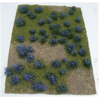 "0595606 FLOWERING MEADOW Purple, 5"" x 7"" sheet."