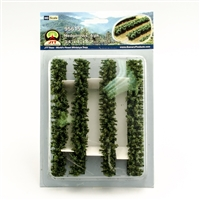 "0595615 HEDGEROWS 3/4""x 1""x 6"", HO-scale, 4/pk"