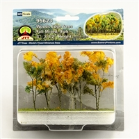 "0595623 WOODS EDGE TREES Fall Mixed, 3"" to 3.5"", HO-scale, 9/pk"